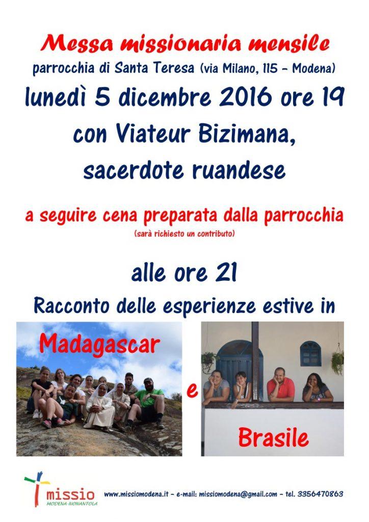 Microsoft Word - 20161205messa_racconto_madagascar_brasile